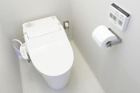 明るいトイレ写真