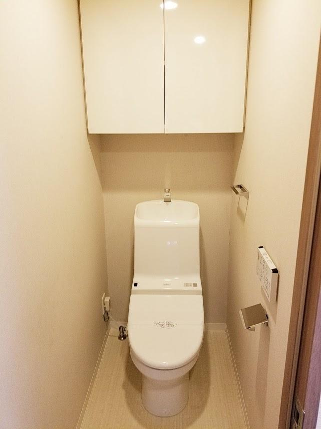 プレミスト東陽町のトイレ