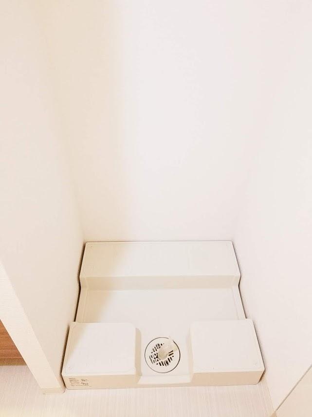 プレミスト東陽町の洗濯機置き場